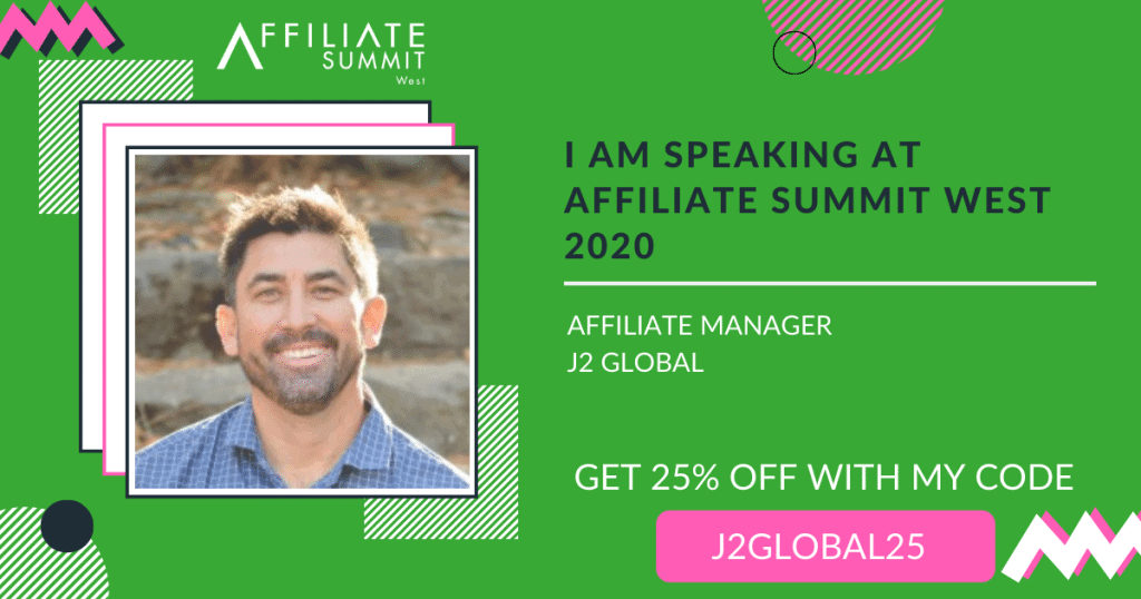 Join me Affiliate Summit West 2020 for affiliate marketing networking at it's best