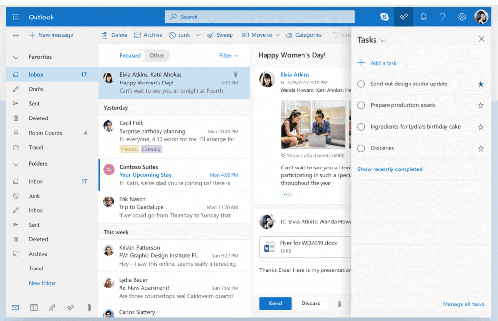 Microsoft Outlook affiliate management tools