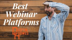 11 Best Webinar Platforms