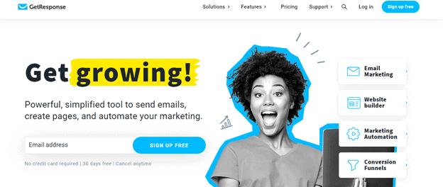 GetResponse: mailchimp alternative