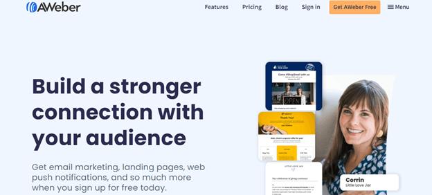 AWeber: mailchimp alternative