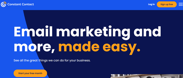 Constant Contact email marketing platform