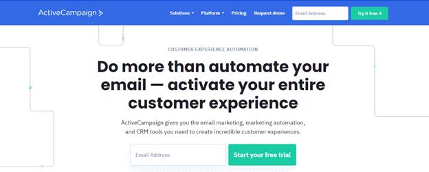 ActiveCampaign: mailchimp alternatives