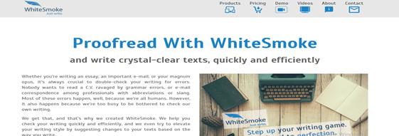 WhiteSmoke: grammarly alternative