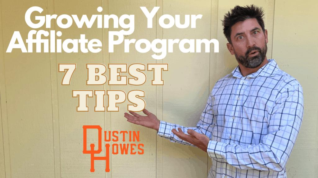 Grow your affiliate program
