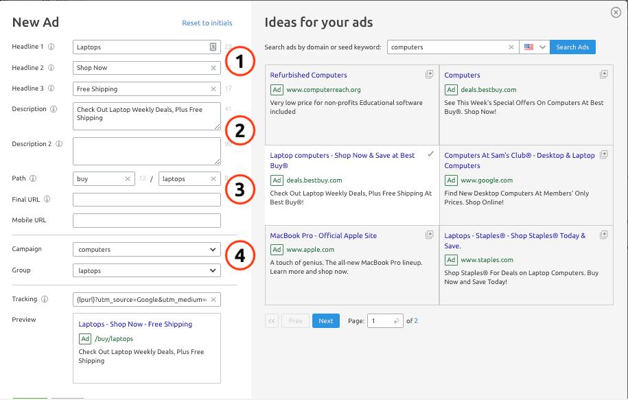 semrush advertising research