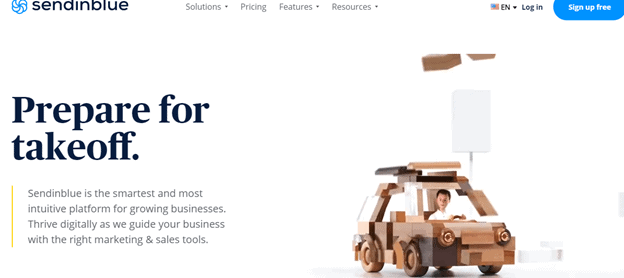 Sendinblue for email marketing