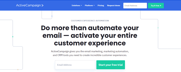 ActiveCampaign for email marketing